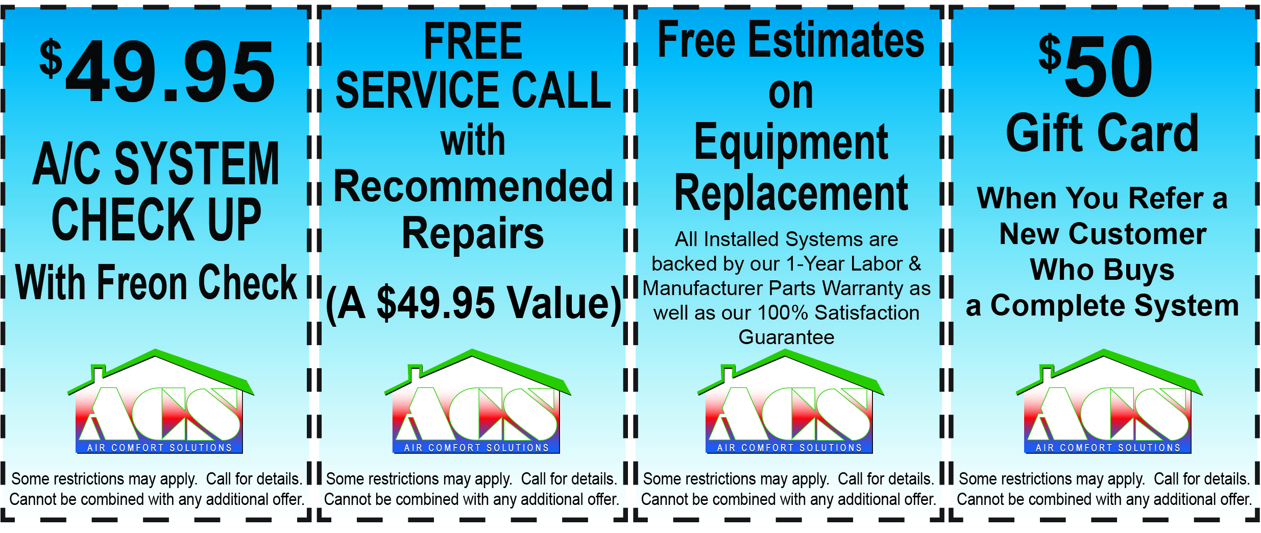 Air Conditioning Repair Specials