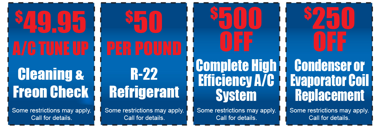 Air Conditioning Repair Specials - Dallas, Plano, Allen, McKinney, Frisco